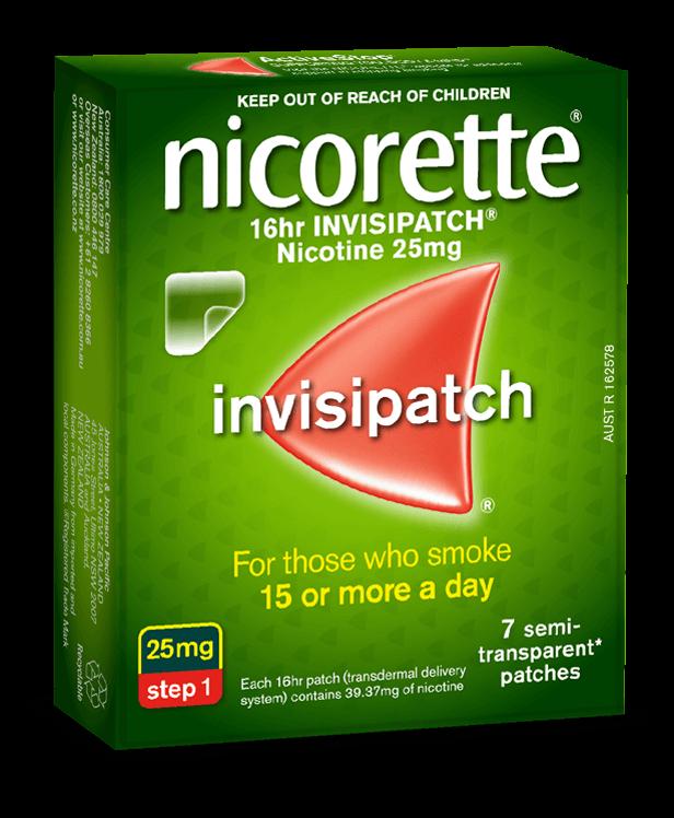 Nicotine Patch 16hr Invisipatch 174 Nicorette 174 Australia