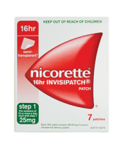 NICORETTE® Nicotine Patch 16hr INVISIPATCH®