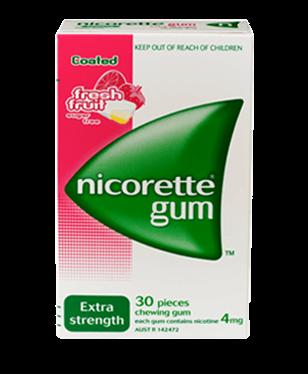 NICORETTE® Nicotine Gum Fresh Fruit